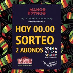 Primevera sound 2018 con Mango Django