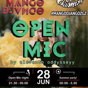28 Junio Open Mic